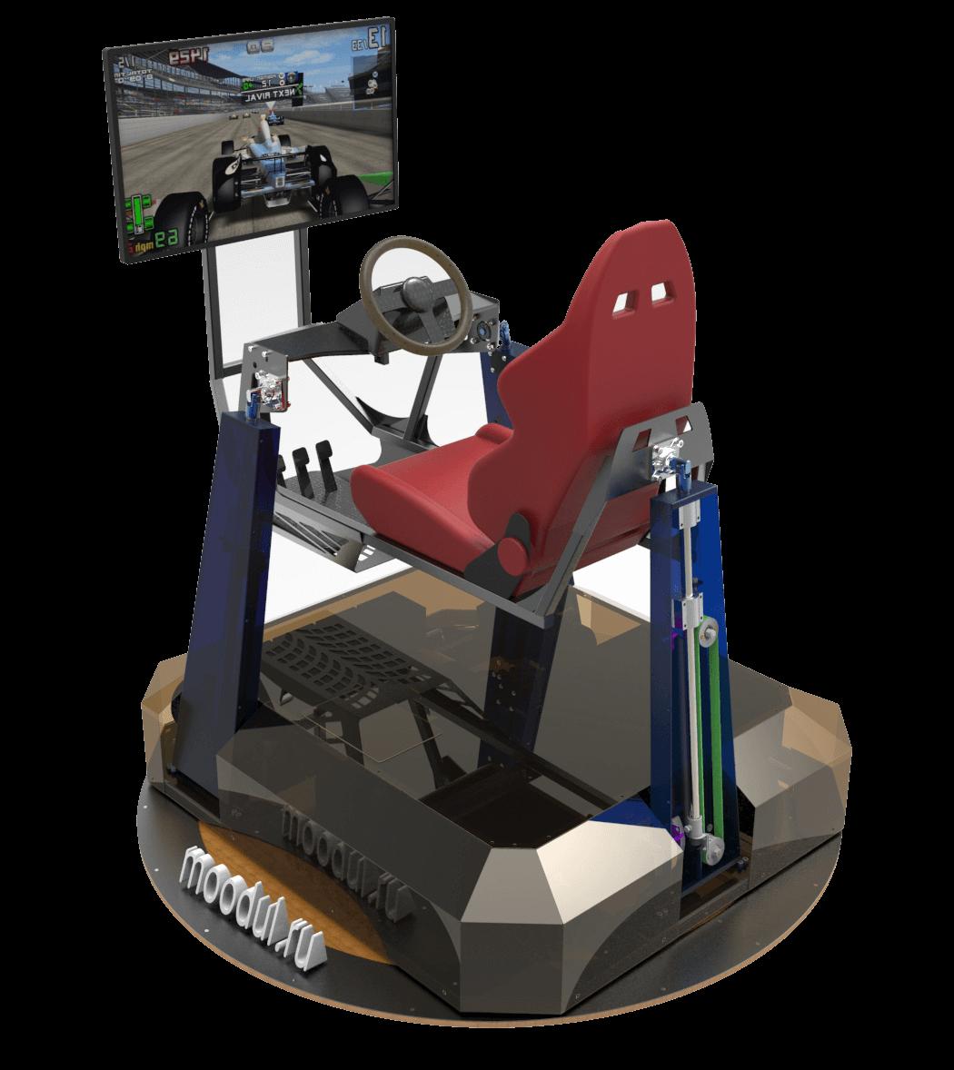 Auto-Simulator 4D Realität