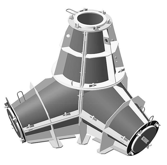 Metallformen für Beton