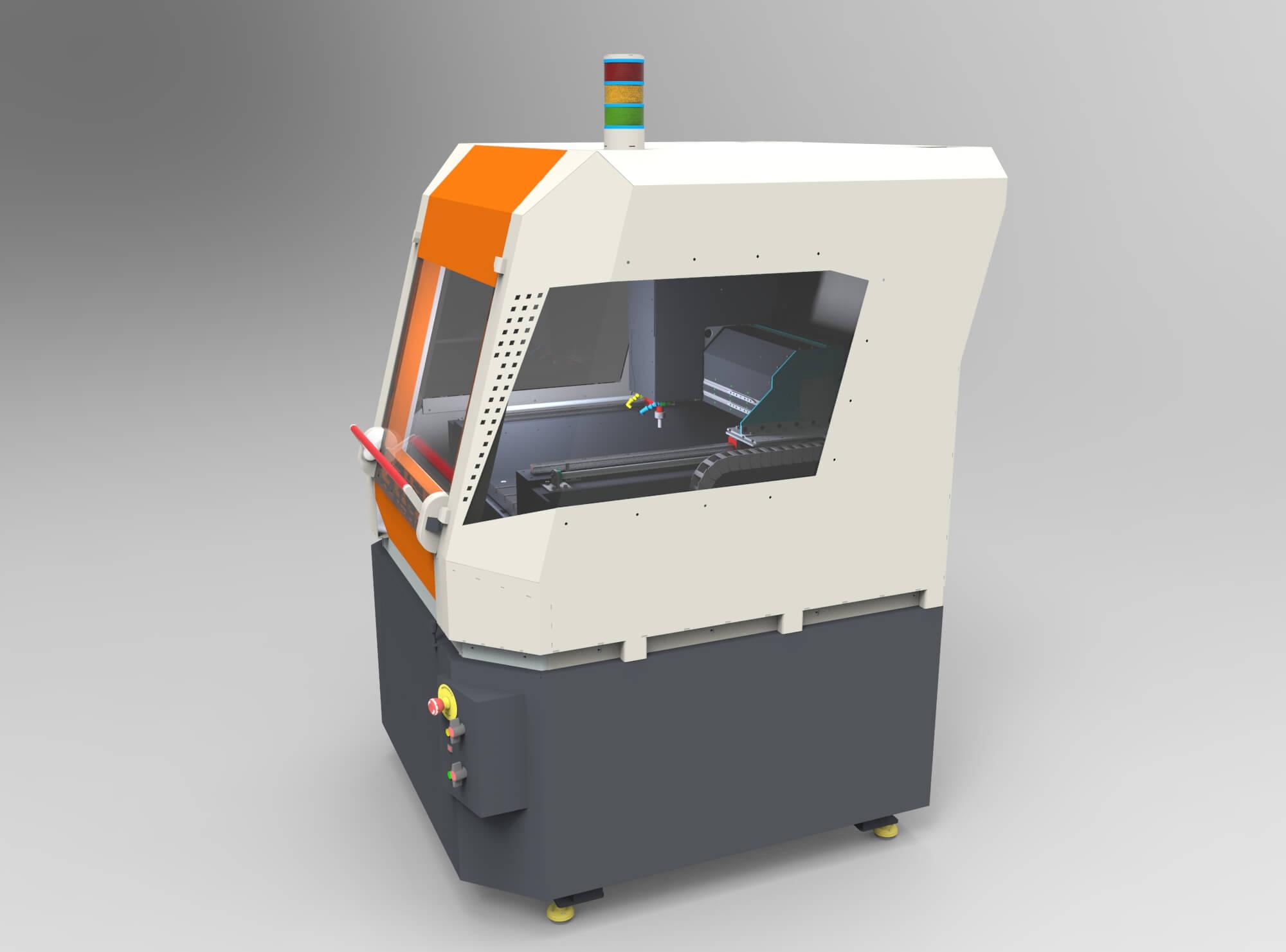 CNC-Maschinen Serie intelligente Werkzeugmaschinen